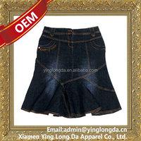 Bottom price latest hottest latest jean dress tops girls