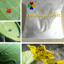 98%TC Insecticide for mites chlorfenapyr insecticide