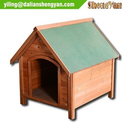 Luxurious and cosy collapsible wooden pet house