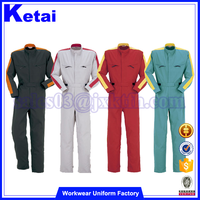 Whaterproof Winter Cheap Industrial Mechanic Women's Work Pink Coveralls