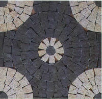 Outdoor paving,meshed flagstone,slate paving stone., outdoor granite paving stones