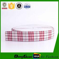 Factory supply custom nylon soft underwear plaids jacquard elastic band