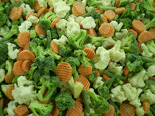 frozen caulifornia mxi vegetable