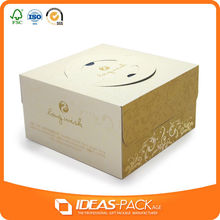 pop cardboard china birthday cake box packaging design