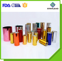 Top rating colour metallized polyester film mylar offering by Wenzhou Starlead