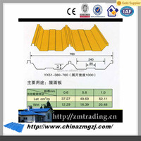 Glazed Zinc coated prepainted color steel sheet for roof