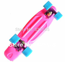 "Classic 22"" Penny Skate board Original Vinyl Cruiser Mini longboard plastic Pink Purple Blue"