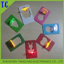 Party Decoration led business card, led card light