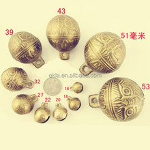 Fashion Various Sizes Exquisite Bronze and Copper Jingle Bells china