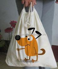 2014 cotton shop bag/ 100% cotton tote bags/ kraft paper packing bag