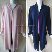 2015 fashion cashmere long women pajamas