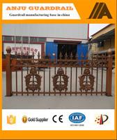 AJLY-910 Decorative modern aluminium fence and gates