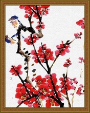 40*50cm Chinese Painting, diy oil painting home decor picture frame