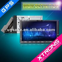 TD714G 7 inch touch screen two din dash car dvd player with GPS Bluetooth 3D Ipod TV Radio