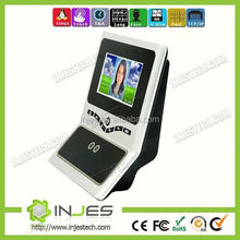 4.3inch Touch Screen 300 Face Recognition Dual Camera Time Attendane Device