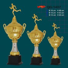 sports gifts custom super quality figure metal trophy for wholesale