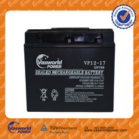 12v17ah solar energy storage battery agm battery price made in China