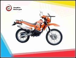 Two wheels and Single-cylinder 150cc Zongshen motorcoss / street dirt motorcycle on sale