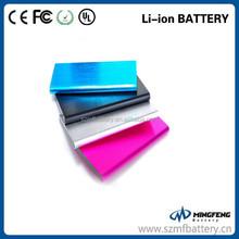 Fashion Aluminum 10000mah power bank for macbook pro /ipad mini