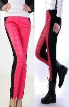 Cotton Down Plus Thick Triple Stitching Warm Women Trousers 9018