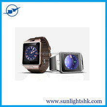 "Bluetooth Smartwatch DZ09 Smart Watch 1.54"" inch Touch Screen for iPhone 4/4S/5/5S Samsung S4/Note 3 HTC Android Smartphones"