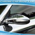 sino de adhesivo de alta cromo flexible adhesivo espejo del coche del pvc plástico etiqueta de cromo