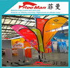 Hot sale outdoor flying subway flags