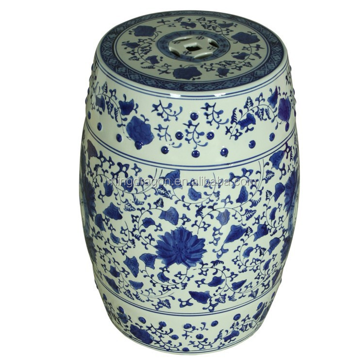 Asia Chinese Home Decorative Antique Ceramic Garden Stool