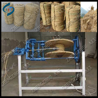 100% new products making straw rope/making grass rope/making jute rope