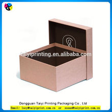 Art paper rectangle shape best design brown fashional paper box for packing gifts