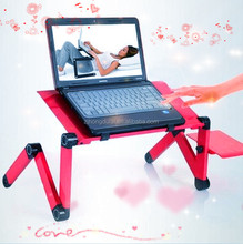 HDL~810 factory manufacture mini desk folding laptop stand in bed