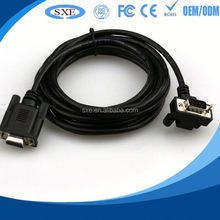 2015 factory high quality male to female dp to vga cable hot selling