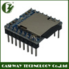 UART control mp3 player module, sound recording ic module, mp3 micro encrypted mini edic voice recorder with 3W amplifier