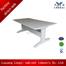 Hight quality metal school reading table with chair designs/ training table