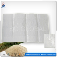 China manufacturers 20kg 25kg 50kg packing rice bag