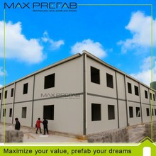 China modern living low cost prefab luxury prefabricated house