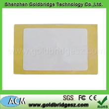 Car Parking RFID Sticker Long Range 86*54mm sizeUHF RFID Paper Tags