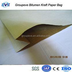 Oxidized Bitumen Packed In Meltable Craft Bag High Temperature Bitumen Bag