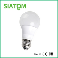 6-12W high bright longlife CE RoHS certificate used for indoor energy saving led light bulb