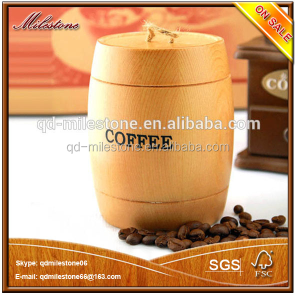 Home decor best gift lovely small wooden barrel for coffee for Best home decor gifts