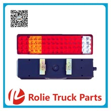 ZD-023 dragon high brightness low power good sealing and long life led rear tail light lamp steel truck light led quantity 64