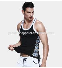 tank top negro ropa deportiva para hombres