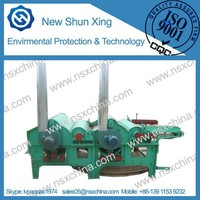 fibre waste recycling machine two,three,four rollers textile tearing machine with low price NSX-QT210