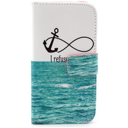 Blue Ocean Anchor Stylish For Lg L90 Wallet Leather Cases