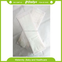 New Design Washable Panty Liner Recycled Cloth Sanitary Napkin Bamboo Menstrual Pads