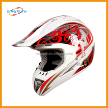 Shell injected ABS material wholesale dirt bike cheap motorcycle helmet manufacturers