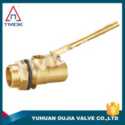 long brass stem valve new design valve ball reasonable price tilting brass float valve