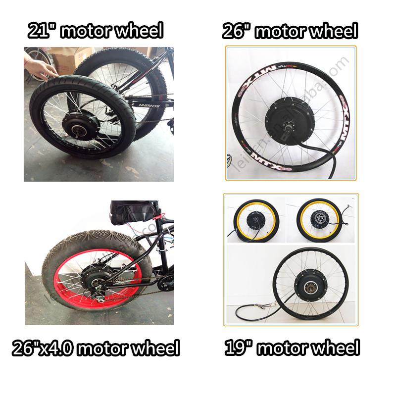 120kph max speed, 140N.M torque 48v-90v scooter motor 5kw motor 5kw motorcycle riim wheel kit