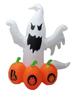 120cm/4ft tall halloween inflatable ghost, pumpkin halloween inflatable decoration