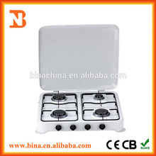 portátil estufa de 4 quemadores de gas